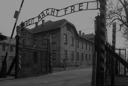 Arbeit Macht Frei and the sounds of silence