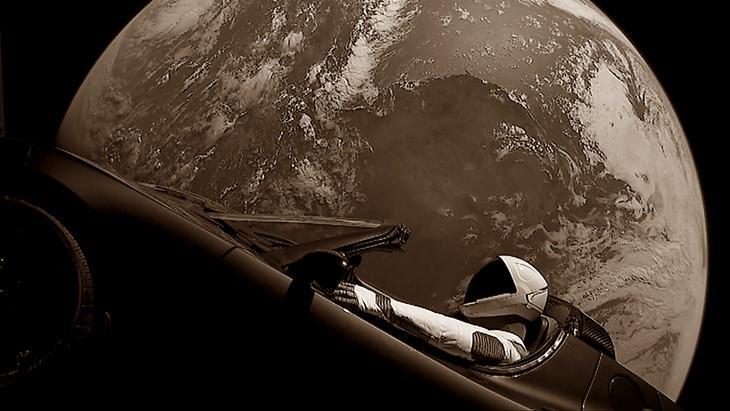 Elon Musk's Tesla Roadster