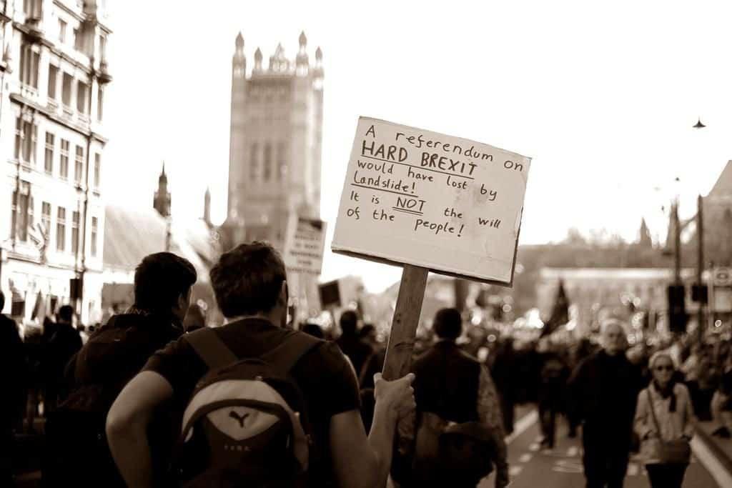 London Brexit Protest