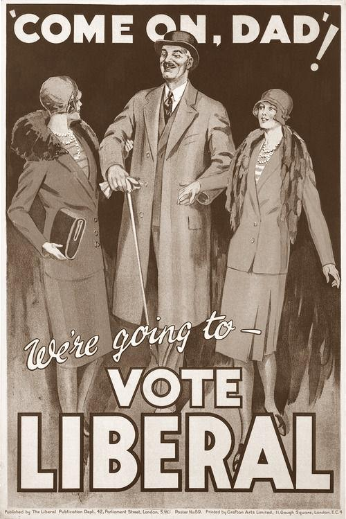liberal poster 1929